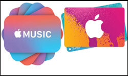 itunes apple giftcard
