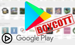 تحریم گوگل پلی