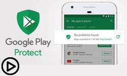 امنیت گوگل پلی