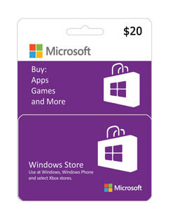 گیفت 20 دلاری ایکس باکس و مایکروسافت