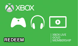 redeem xbox giftcard