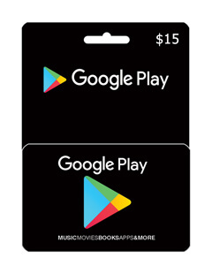 گیفت 15 دلاری گوگل پلی