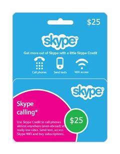 skype giftcard