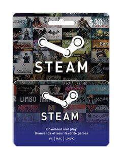 steam gift 30$